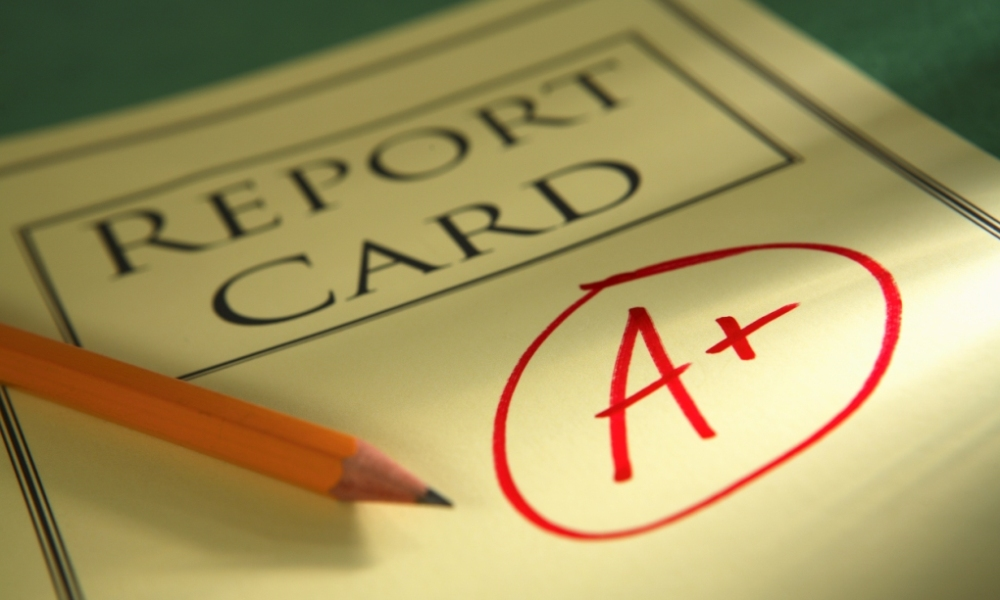 Are report cards telling the truth to parents?